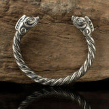 Viking Boar Arm Ring Bracelet