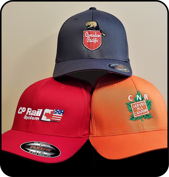 Railway Caps Canadian Pacific and Canadian National Casual Ts Apparel and Souvenirs