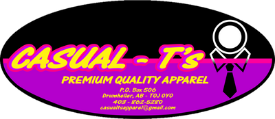 Casual Ts Apparel and Souvenirs