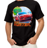 Chevrolet - C8 New Corvette - Hemi Hunter Black Mens T-shirt Cars Automotive Closeup Casual Ts Apparel and Souvenirs