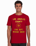 Pop Culture - EMERGENCY Squad 51 Door Art T-Shirt