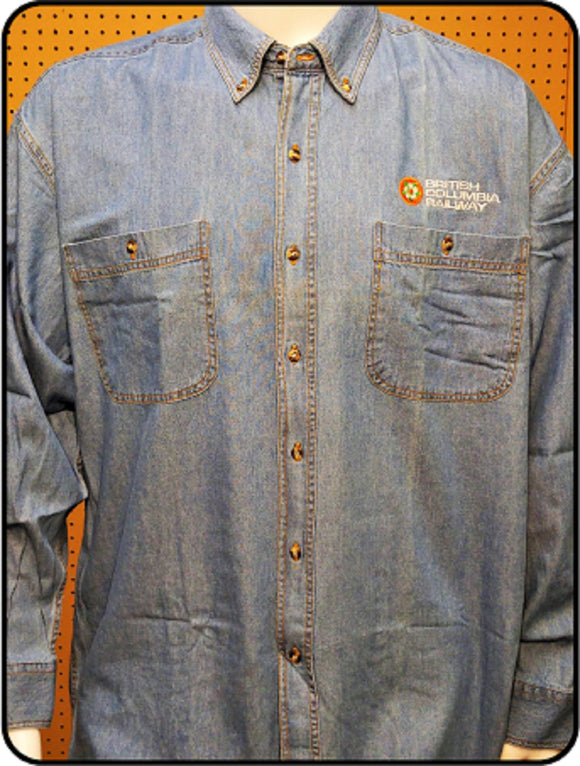 CN - BCR Dogwood Logo Denim Shirt