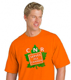 CNR Serves All Canada - Orange