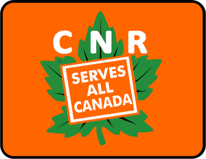 CNR Canadian National Serves All Canada Graphic Logo Casual Ts Apparel and Souvenirs