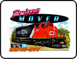 CN Prime Mover Logo Casual Ts Apparel and Souvenirs