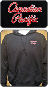CP Canadian Pacific New Script Logo Hoodie Casual Ts Apparel and Souvenirs