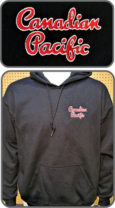 CP Canadian Pacific Original Script Logo Hoodie Casual Ts Apparel and Souvenirs