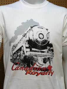 CP Canadian Royalty 2860 graphic logo Casual Ts Apparel and Souvenirs