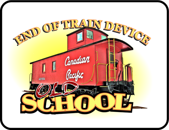 Canadian Pacific: End of Train Device - Old School logo Casual Ts Apparel and Souvenirs