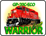 Canadian Pacific GP-20C Eco Warrior logo Casual Ts Apparel and Souvenirs