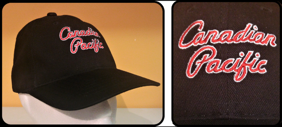 CP New Script Logo Black Cap Casual Ts Apparel