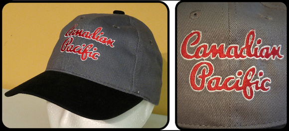 Canadian Pacific Old Script Black-Charcoal Cap