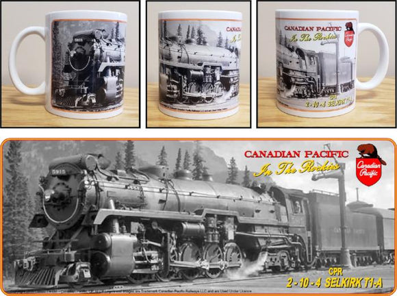 Canadian_Pacific_2-10-4_T1a_Selkirk_Mug_Casual_Ts_Premium_Apparel_and_Souvenirs