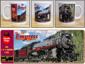 Canadian_Pacific_The_Empress_2816_Hudson_Ceramic_Mug_Casual_Ts_Apparel_and_Souvenirs