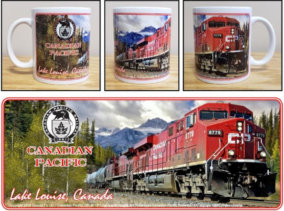 Canadian_Pacific_ES44AC_in_Lake_Louise_Ceramic_Mug_Casual_Ts_Apparel_and_Souvenirs
