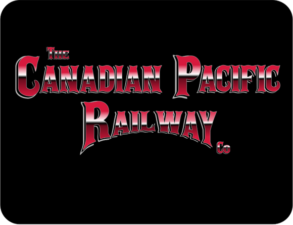 Canadian Pacific Railway Company Graphic Logo Casual Ts Apparel and Souvenirs