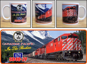 Canadian_Pacific_SD40-2F_in_the_Rockies_Ceramic_Mug_Casual_Ts_Apparel_and_Souvenirs
