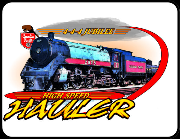 CP 4-4-4 Jubilee High Speed Hauler Graphic Logo Casual Ts Apparel and Souvenirs
