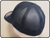 CN North America Flexfit Truckers Mesh back Black Cap Casual Ts Apparel and Souvenirs