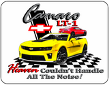 Camaro LT-1 Heaven Chevrolet Logo Casual Ts Apparel and Souvenirs