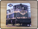 CN Northern Alberta Railway - NAR - GMD-1 Diesel Locomotive Coaster Casual Ts Apparel and Souvenirs
