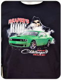Challenger Hellcat Reapers Ride T-shirt Casual Ts Apparel and Souvenirs