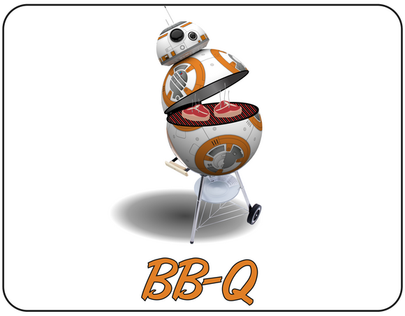 BB-8 as a BB-Q graphic Casual Ts Apparel and Souvenirs