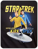 TOS -Captain and First Officer T-shirt Casual Ts Apparel and Souvenirs