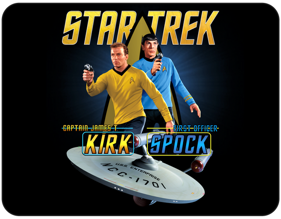 TOS -Captain and First Officer Graphic Casual Ts Apparel and Souvenirs