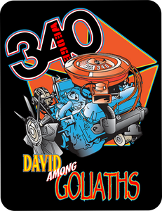 340 Wedge David Among Goliaths - Graphic T-shirt Casual Ts Apparel and Souvenirs