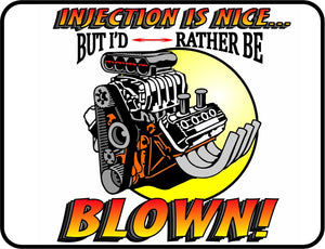 Mopar HEMI - Injection is Nice, But I's Rather Be Blown - Logo Casual Ts Apparel and Souvenirs