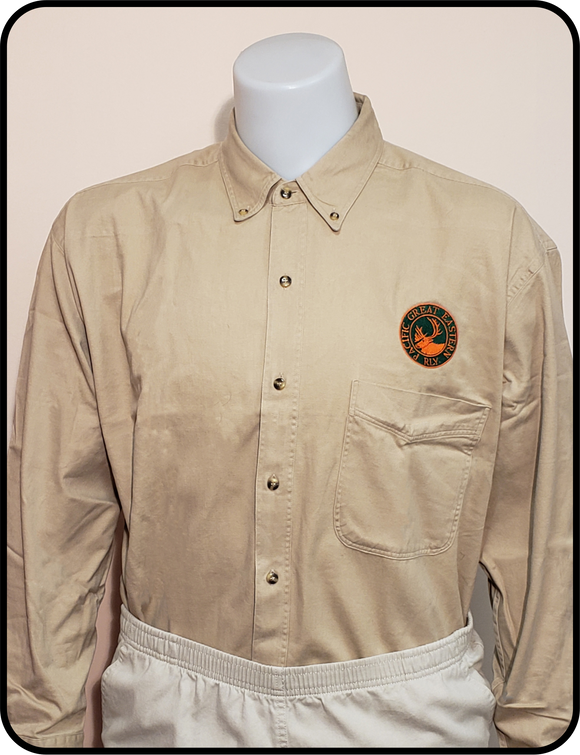 CN - Pacific Great Eastern Railway Ivory Work Shirt