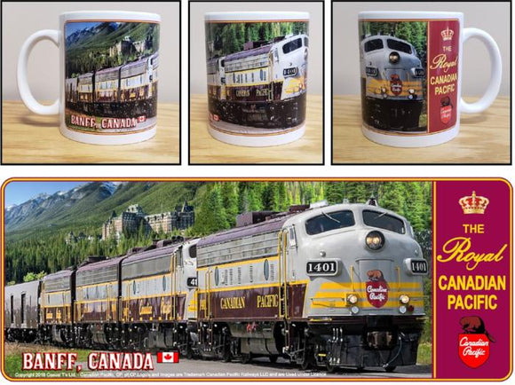 Royal_Canadian_Pacific_Banff_Canada_Ceramic_Mug_Casual_Ts_Apparel _and_Souvenirs