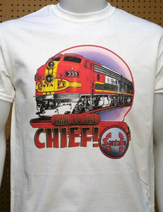 Santa Fe Hail To The Chief graphic logo Casual Ts Apparel and Souvenirs