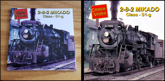 Canadian National 2-8-2 Mikado Locomotive ceramic tile Casual Ts Apparel and Souvenirs