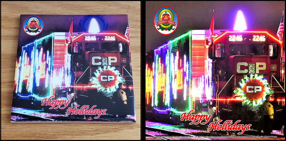 Canadian Pacific Holiday Train profile ceramic tile Casual Ts Apparel and Souvenirs