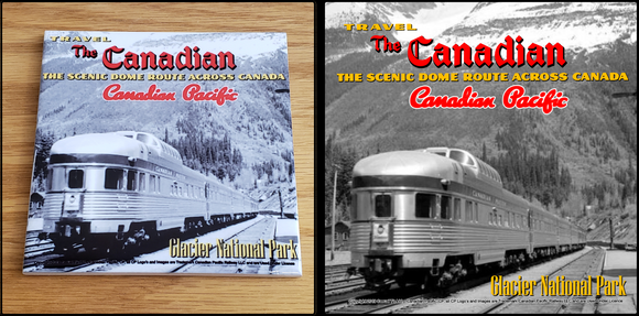 Canadian Pacific The Canadian Glacier National Park ceramic tile Casual Ts Apparel and Souvenirs