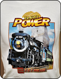 Canadian National 2-8-2 Mikado Prairie Power T-shirt Casual Ts Apparel and Souvenirs