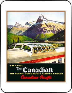 CP - Canadian Pacific The Canadian Poster Art No 2 Graphic T-shirt Casual Ts Apparel and Souvenirs