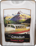 CP Canadian Pacific The Canadian Poster Art No 2 Graphic T-shirt Casual Ts Apparel and Souvenirs