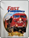 Canadian Pacific AC4400 Fast Forwarder Graphic T-shirt Casual Ts Apparel and Souvenirs