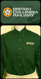CN BCR Dogwood Logo Work Forest Green Shirt Casual Ts Apparel and Souvenirs