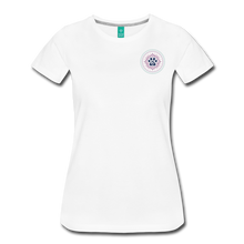 Third Eye Holistic Pet Wellness Women's Tri-Blend V-Neck T - white