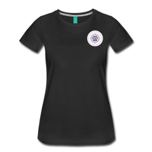 Third Eye Holistic Pet Wellness Women's Tri-Blend V-Neck T - black