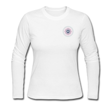 Third Eye Holistic Pet Wellness Women's Long Sleeve Jersey T - white
