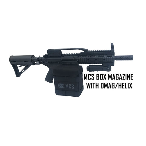 MCS GEN 2 BOX DRIVE MAGAZINE FOR 468/PTR/T68 WITH DMAG/HELIX