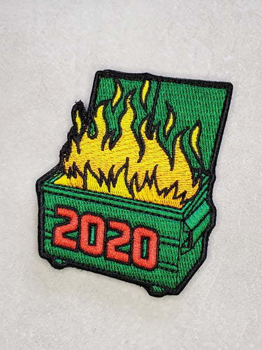 2020 Dumpster Embroidered Morale Patch