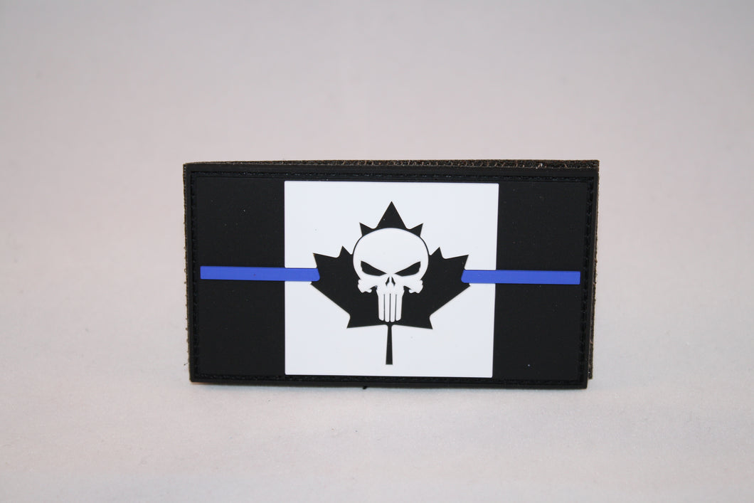 Punisher Thin Blueline Giveback Patch