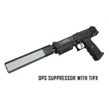 OPS SUPPRESSOR (UNIVERSAL) 22MM AND 7/8 MUZZLE THREADS Mercury Color