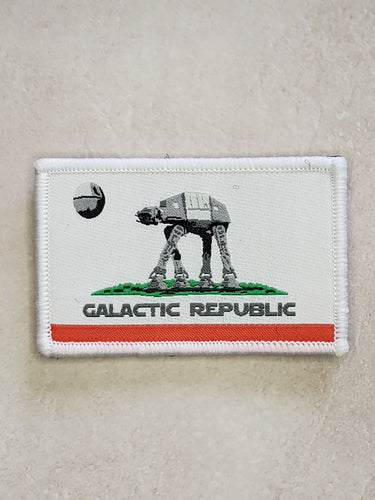 California Galactic Republic Embroidered Morale Patch